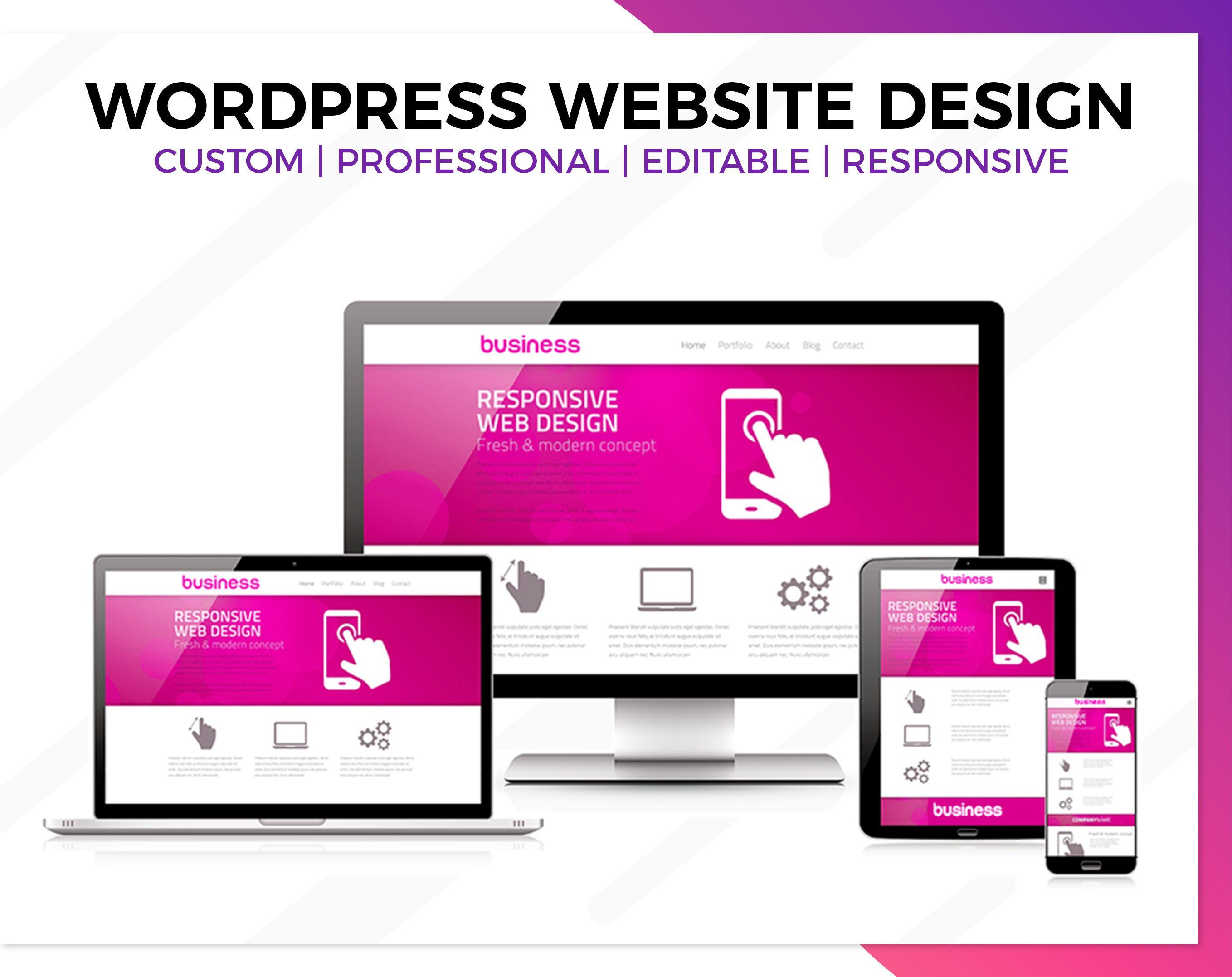 Business Website Stanhope