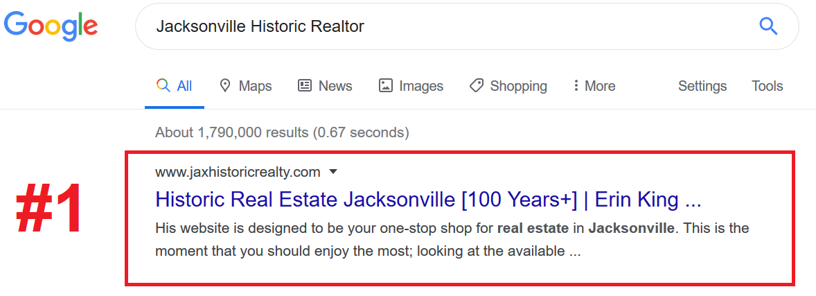 Homes for Sale SEO