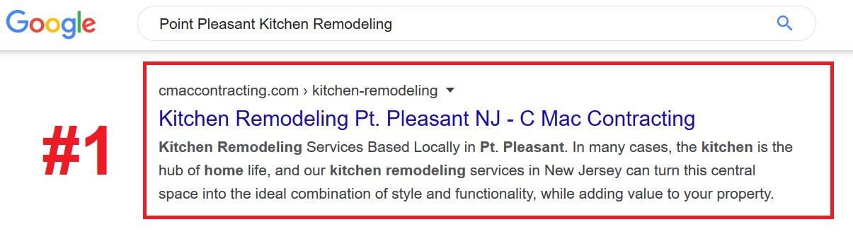 Kitchen Remodleing SEO