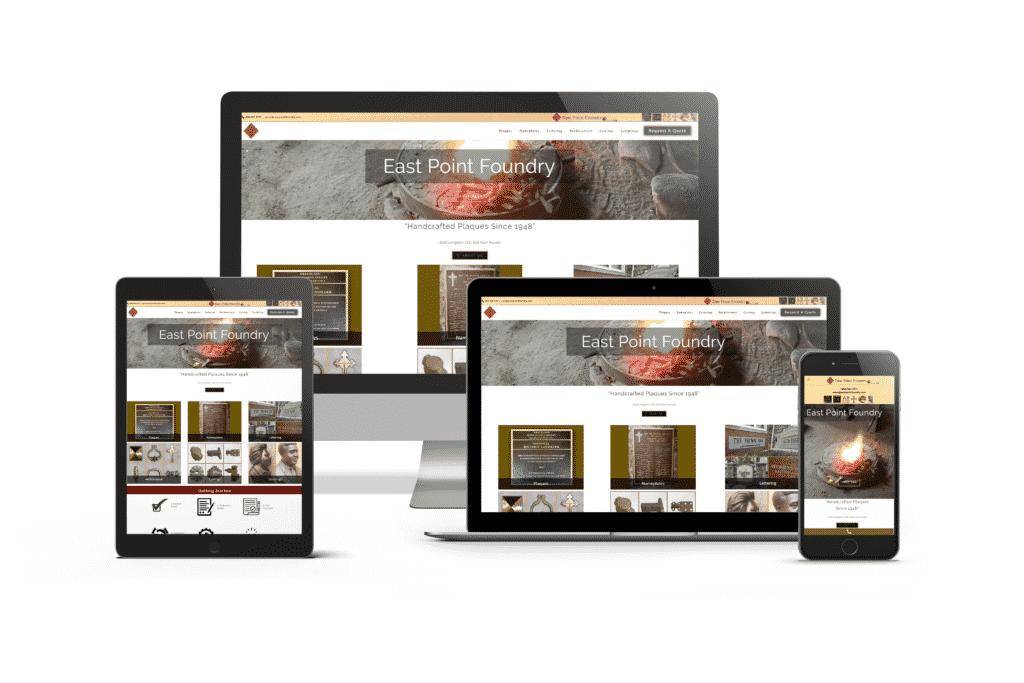 Metal Casting Website Design