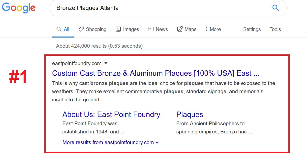 Metal Company Internet Marketing