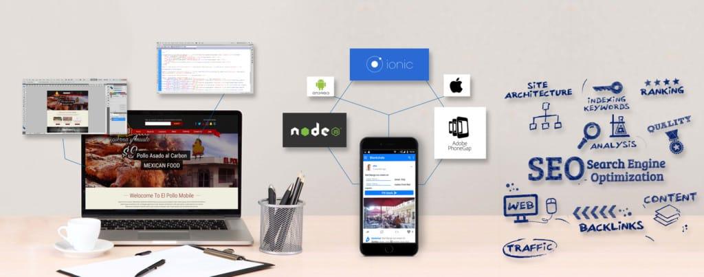 Mobile Website Alpine