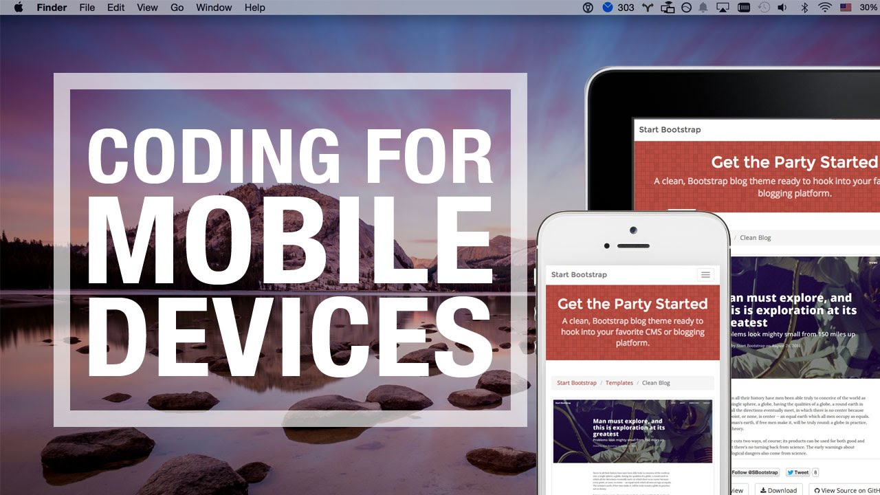 Mobile Website Bernards Township