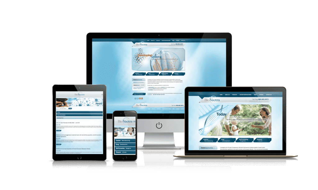 Mobile Website Branchville