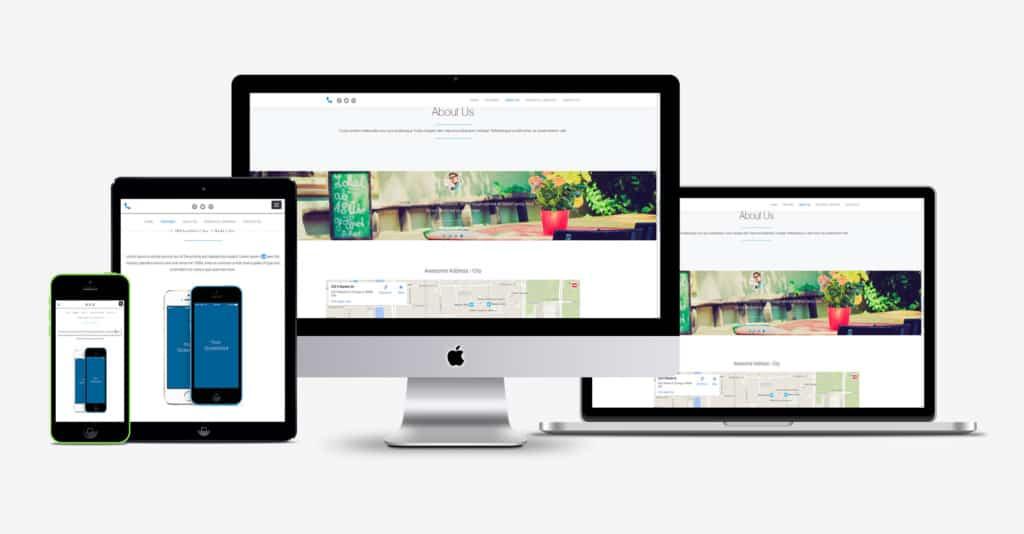 Mobile Website Clinton Township