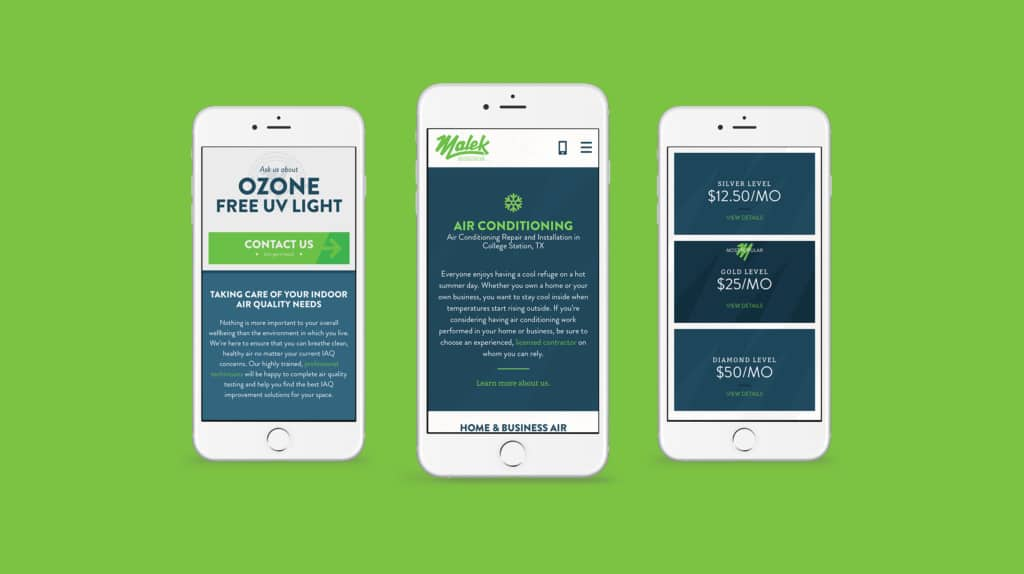 Mobile Website Green Brook Township