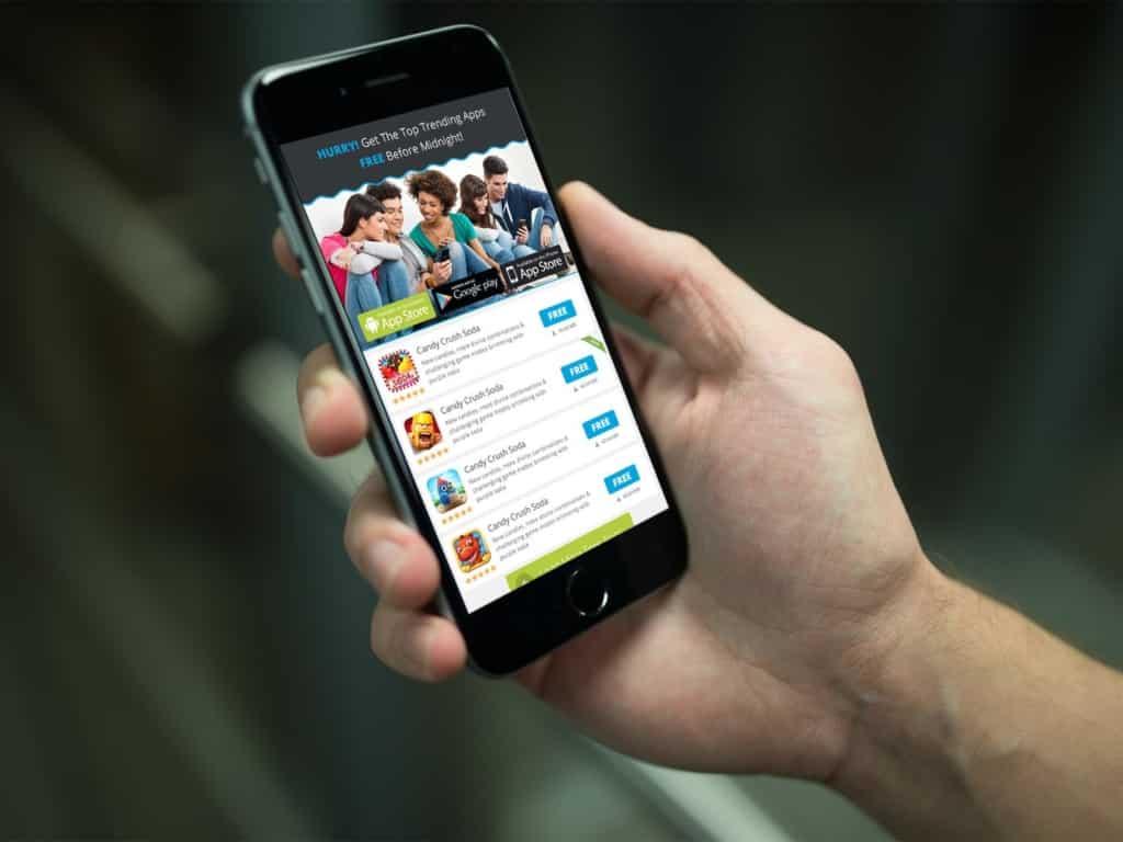 Mobile Website Hanover Township