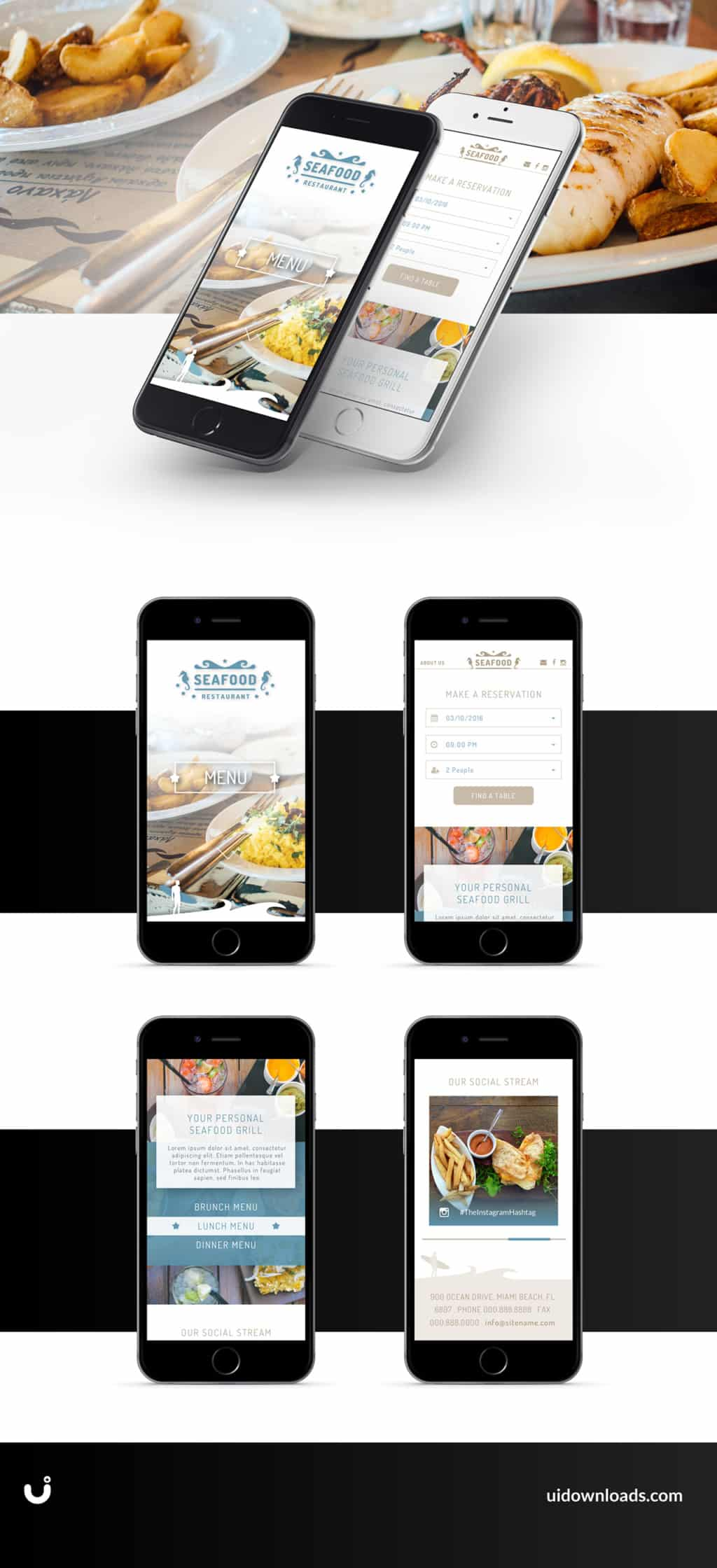 Mobile Website Lake Como