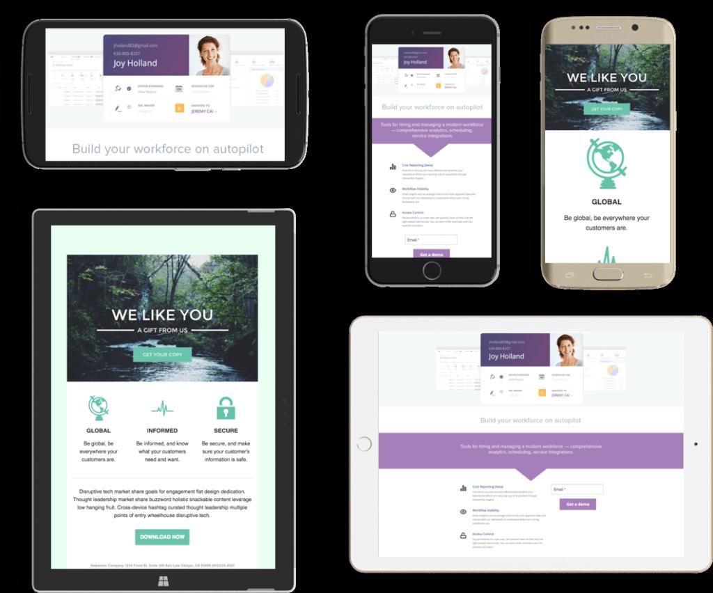 Mobile Website Lakehurst