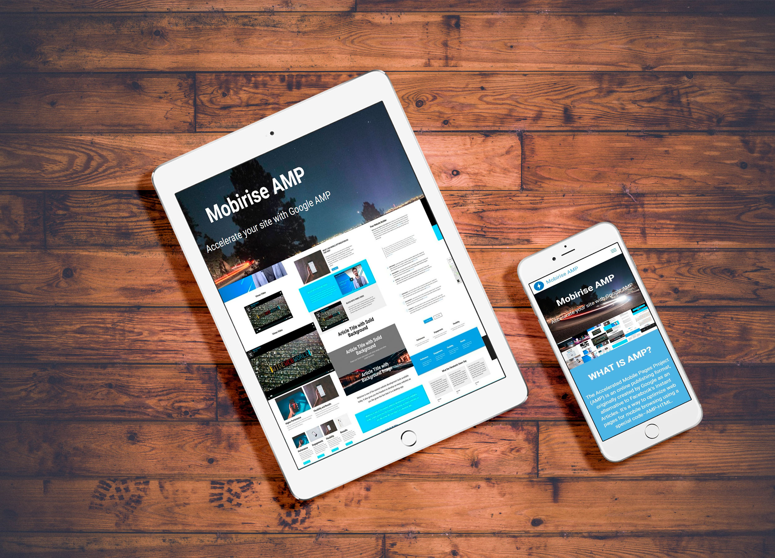 Mobile Website Maywood