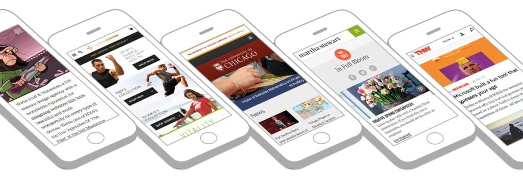 Mobile Website Montville