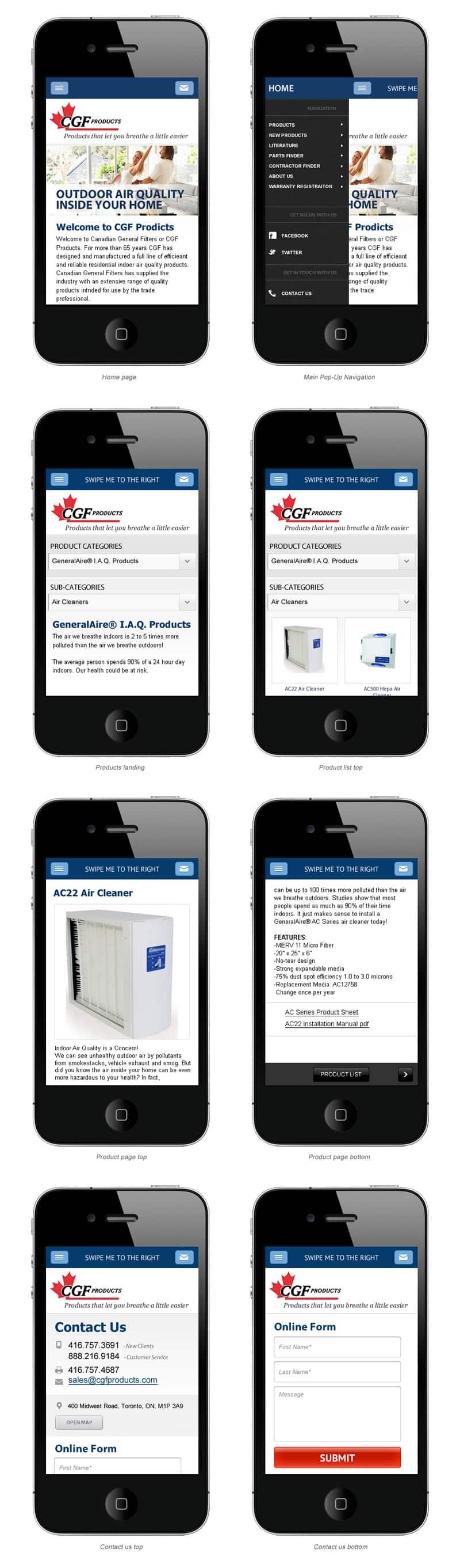 Mobile Website North Haledon