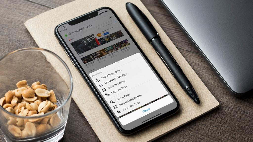 Mobile Website Sea Bright