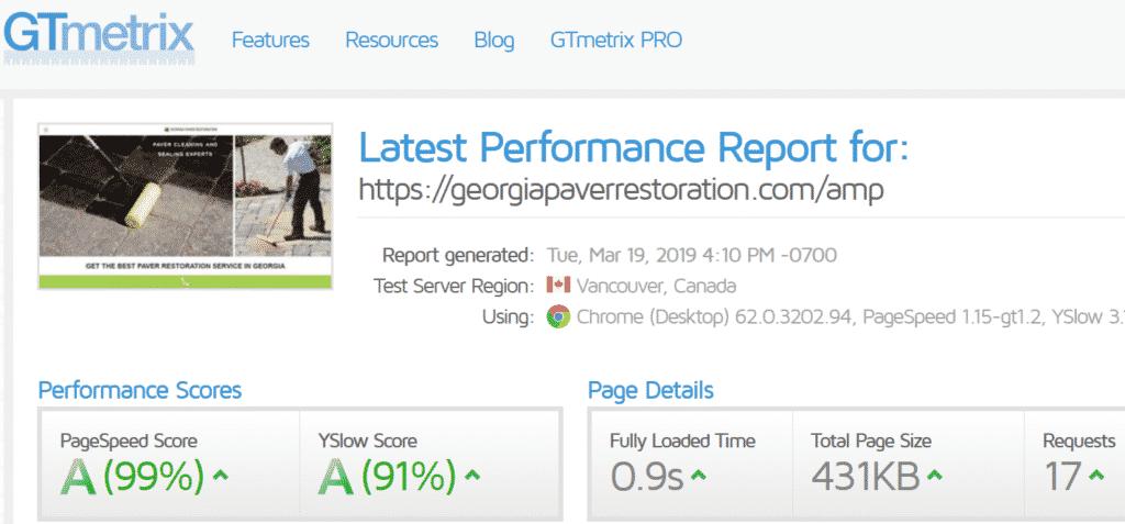 Paver Company WordPress Website