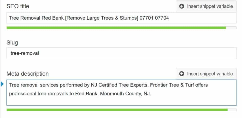SEO for Tree Companies