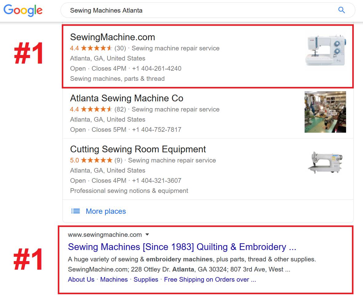Sewing Machine SEO