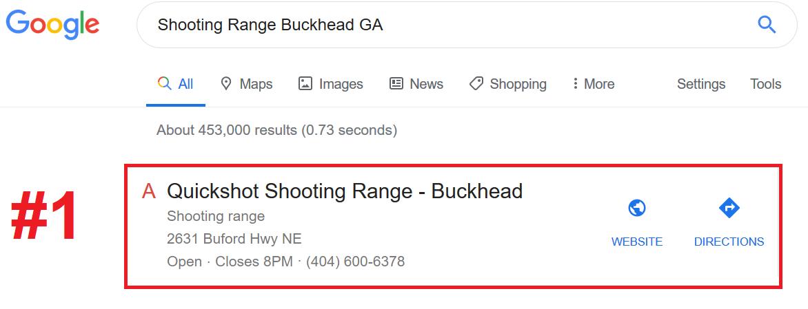 Shooting Range SEO