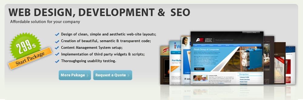 Web Design Company Quinton Township