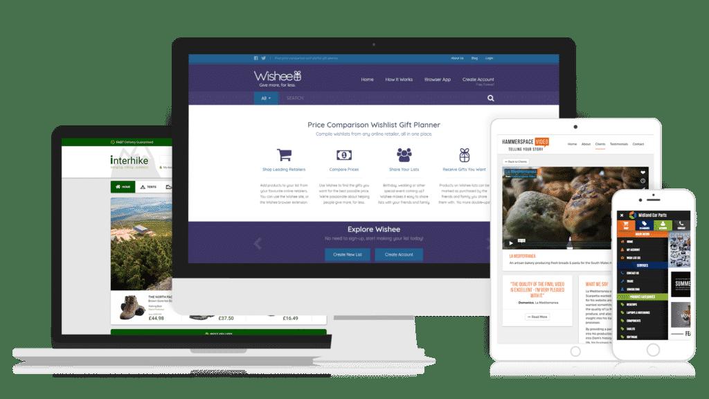 Website designer Victory Gardens