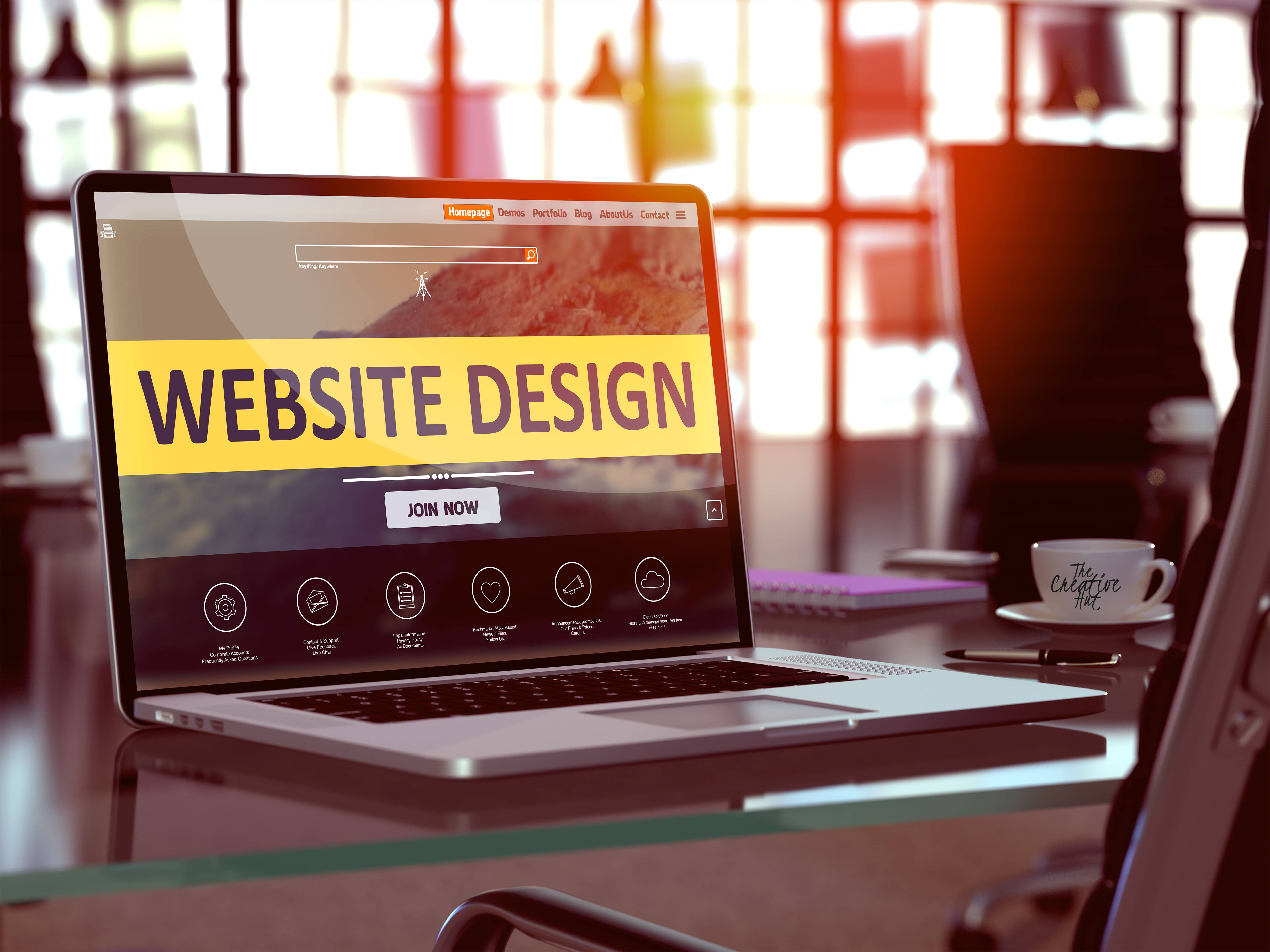 Website Designer Burlington Township